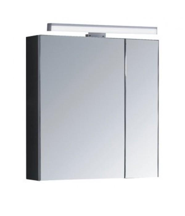 Зеркало-шкаф La Tezza Ampio 65, черный