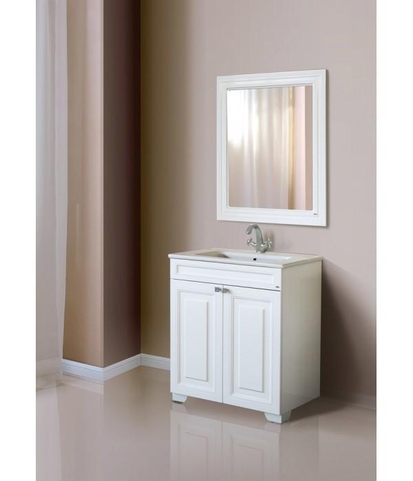 Зеркало Атолл Мальта 80, белый