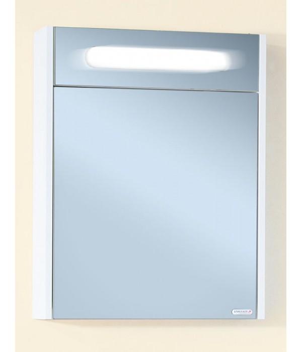 Зеркало Бриклаер Палермо 55 белый глянец