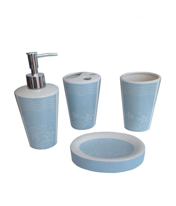 PARIS Набор аксессуаров для ванной, 4 предмета