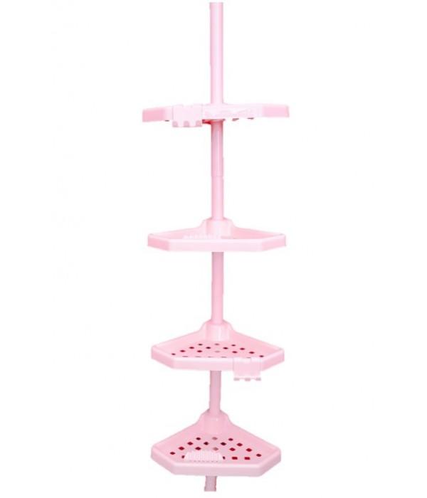 Розовый комплект угловых полок