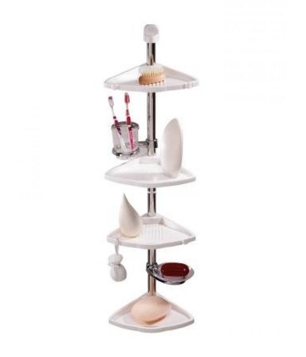 Комплект угловых полок с мыльницей и стаканом