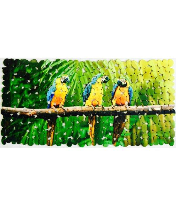 Коврик 70х36 Попугаи ара