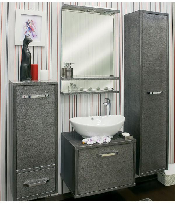 Комплект мебели Sanflor Румба 60, венге/серебро
