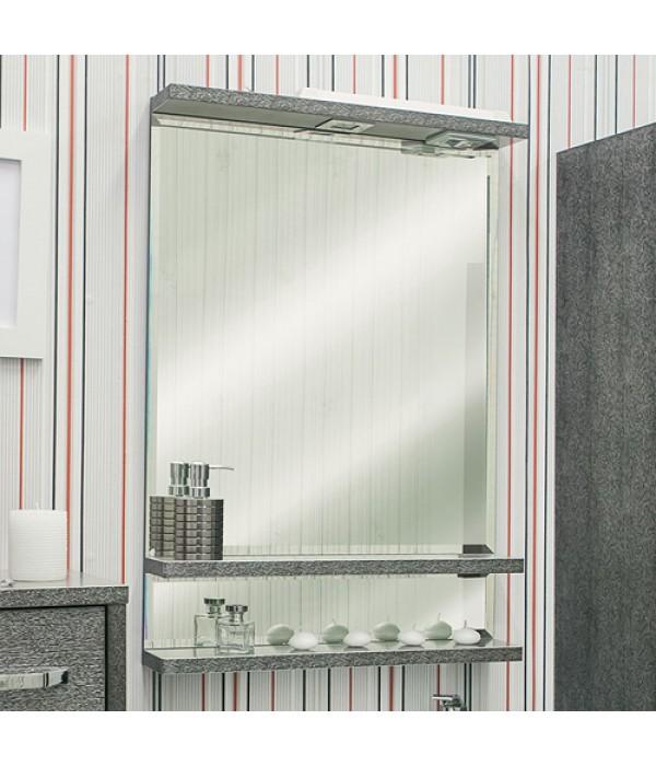 Зеркало Sanflor Румба 60, венге/серебро