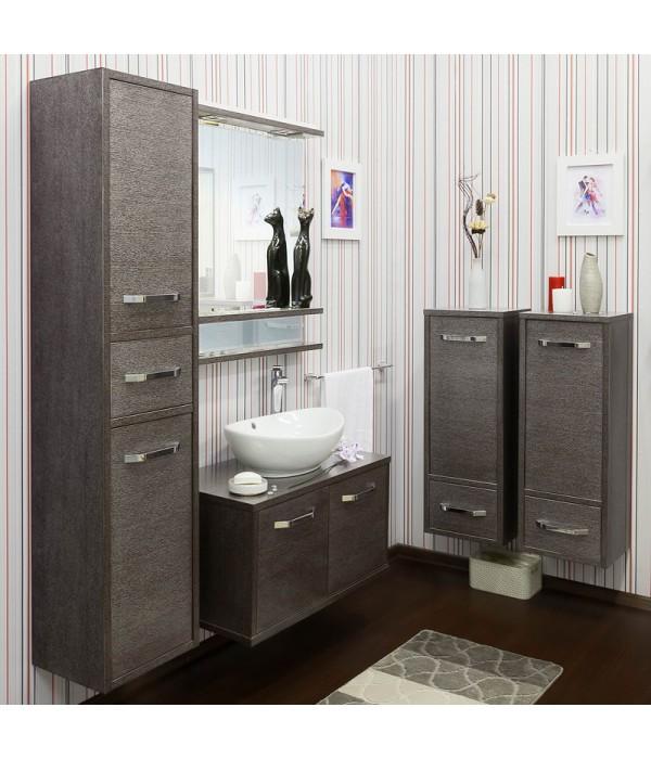 Комплект мебели Sanflor Румба 82, венге/серебро