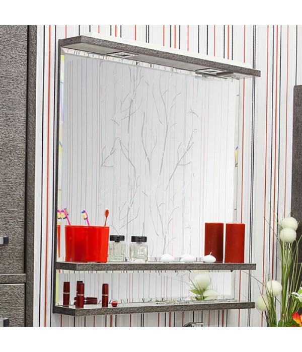 Зеркало Sanflor Румба 82, венге/серебро