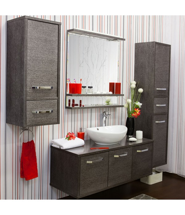 Комплект мебели Sanflor Румба 120, венге/серебро
