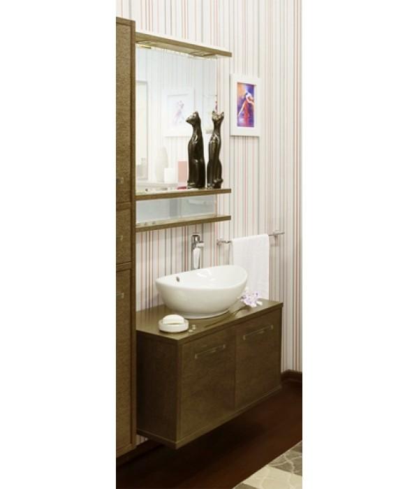 Комплект мебели Sanflor Румба 82, венге/золото