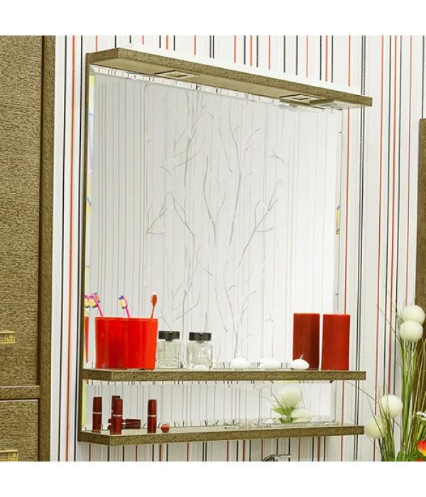 Зеркало Sanflor Румба 82, венге/золото