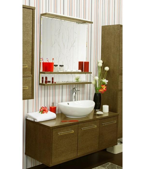 Комплект мебели Sanflor Румба 120, венге/золото