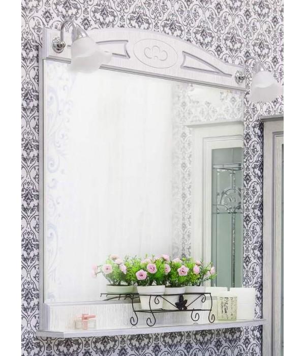 Зеркало Sanflor Адель 82, белый