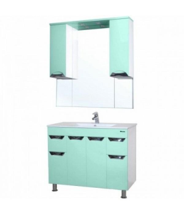 Комплект мебели Bellezza Симона 100, салатовый
