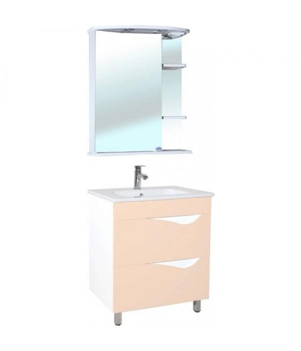 Комплект мебели Bellezza Эйфория 60, бежевый