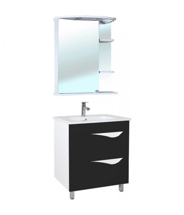 Комплект мебели Bellezza Эйфория 60, черный