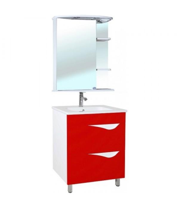 Комплект мебели Bellezza Эйфория 60, красный