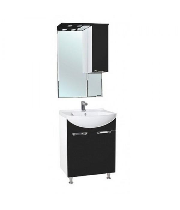 Комплект мебели Bellezza Альфа 65, черный