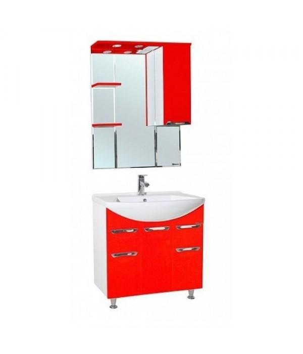 Комплект мебели Bellezza Альфа 75, красный