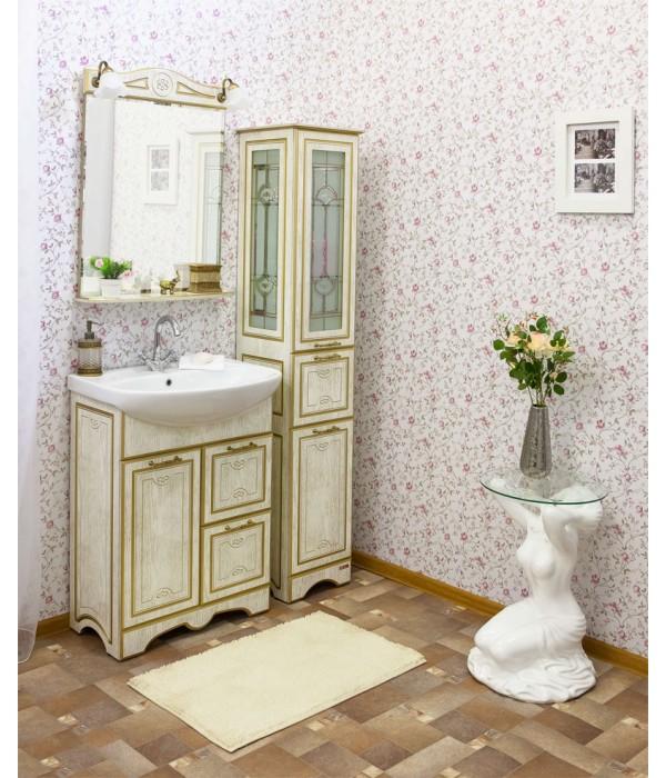 Комплект мебели Sanflor Адель 65, дуб/золото