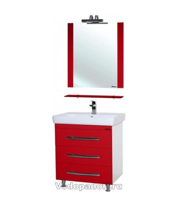 Комплект мебели Bellezza Рокко 80 напольная, красный