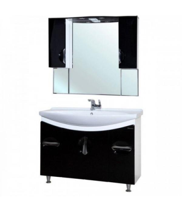 Комплект мебели Bellezza Лагуна 105, черный