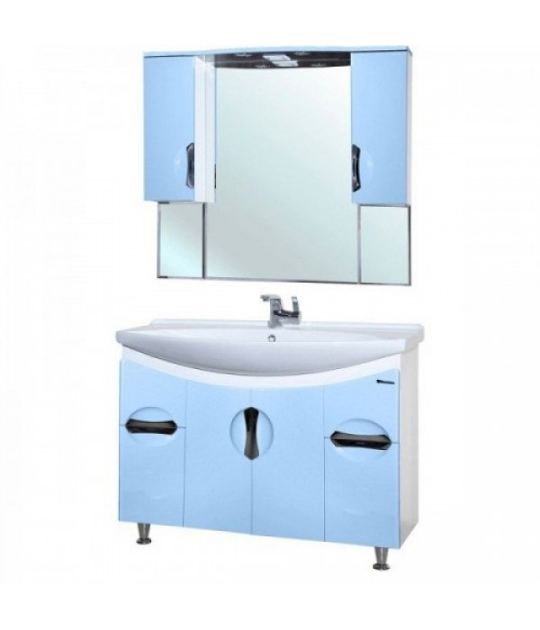 Комплект мебели Bellezza Лагуна 105, голубой