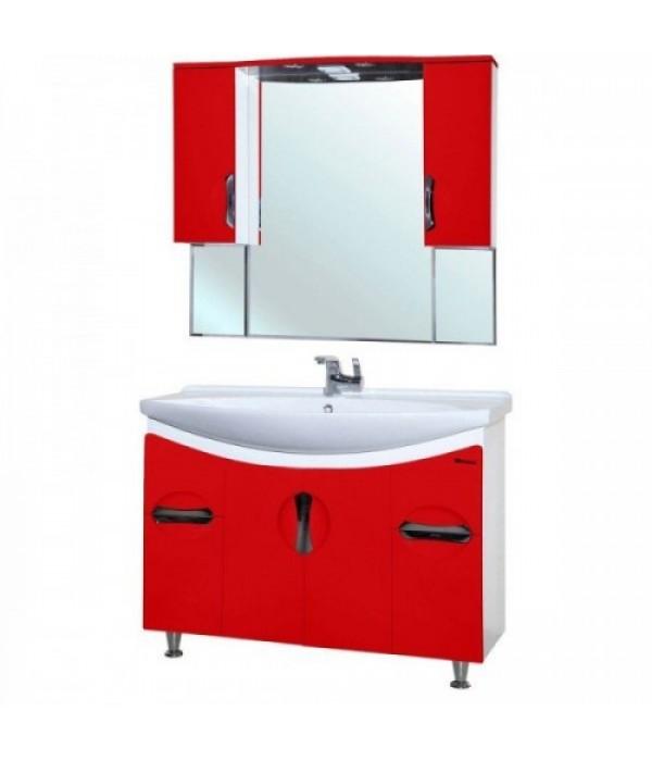 Комплект мебели Bellezza Лагуна 105, красный