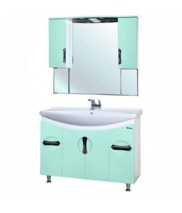 Комплект мебели Bellezza Лагуна 105, салатовый