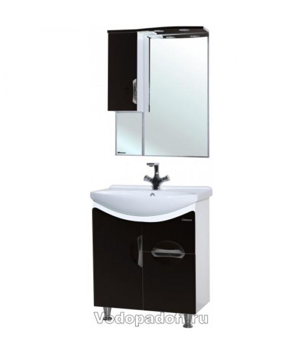 Комплект мебели Bellezza Лагуна 65, черный