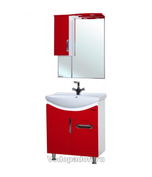 Комплект мебели Bellezza Лагуна 65, красный