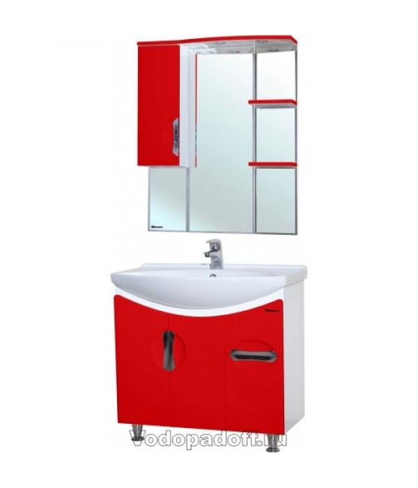 Комплект мебели Bellezza Лагуна 85, красный