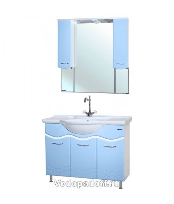 Комплект мебели Bellezza Мари 105, голубой