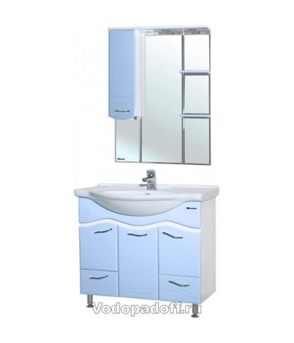 Комплект мебели Bellezza Мари 85, голубой