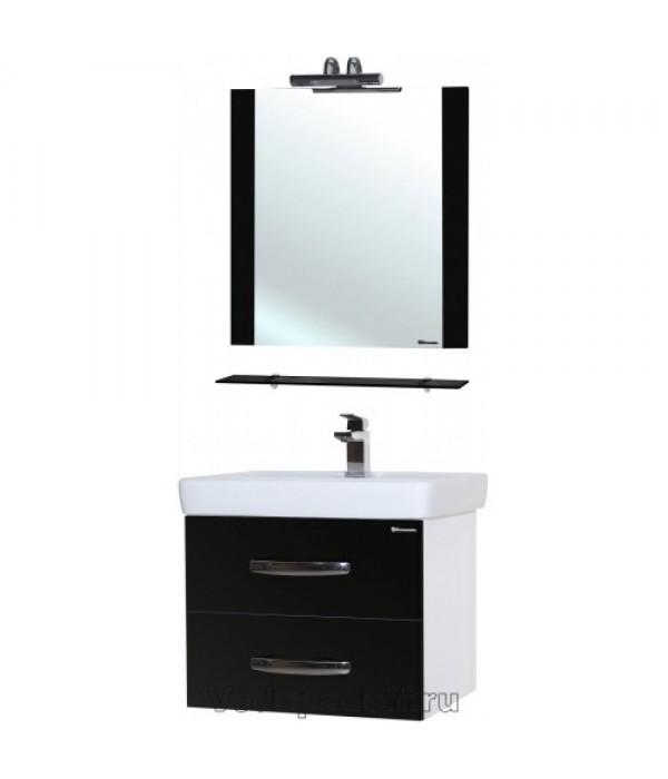 Комплект мебели Bellezza Рокко 60 подвесная, черный