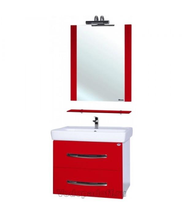 Комплект мебели Bellezza Рокко 80 подвесная, красный