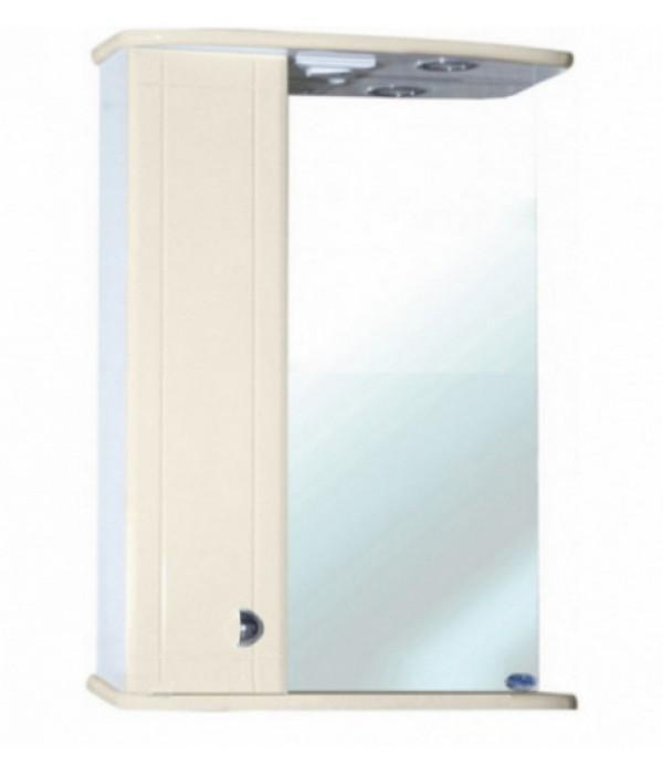 Зеркало-шкаф для ванной Bellezza Астра 50, бежевый