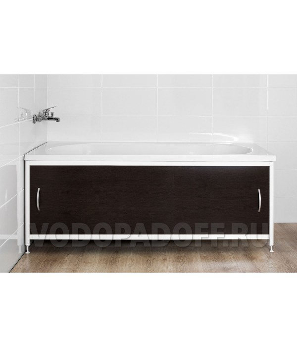 Фотоэкран под ванну 2069 Венге Премиум Размер 148/168