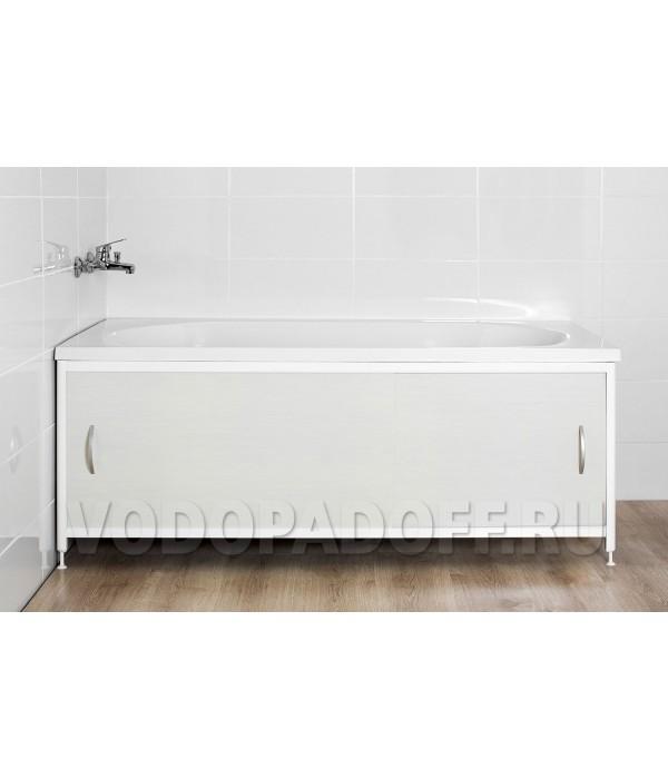 Фотоэкран под ванну 4202 Светло-серый Премиум Размер 148/168