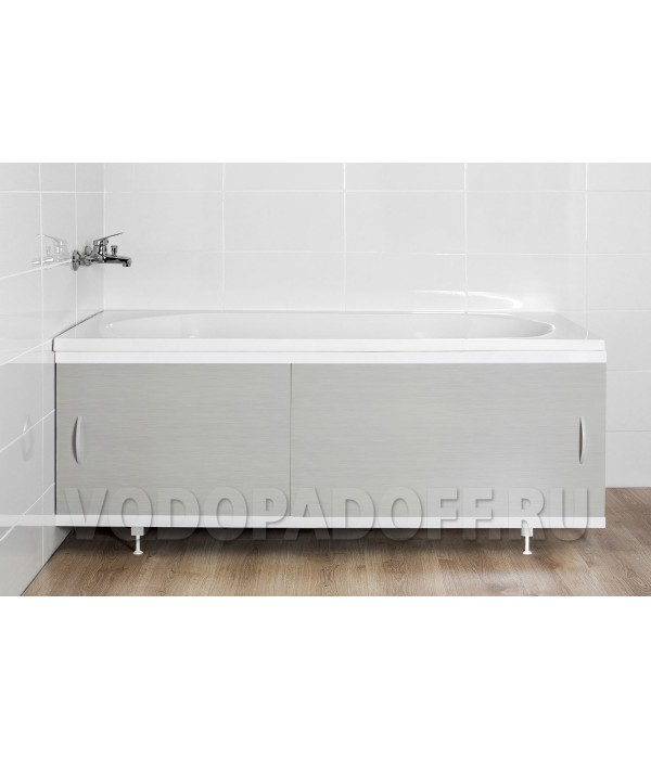 Фотоэкран под ванну 4202 Светло-серый Классик Размер 148/168