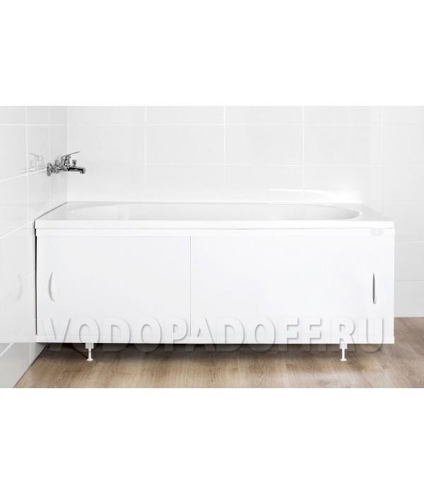 Фотоэкран под ванну 11016 Белый Классик Размер 148/168