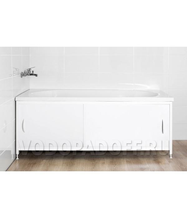 Фотоэкран под ванну 11016 Белый Премиум Размер 148/168