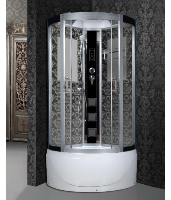 Душевая кабина Niagara Lux 7710B хром, черный
