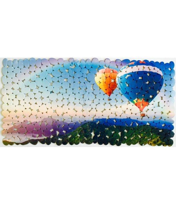 Коврик 70х36 воздушные шары