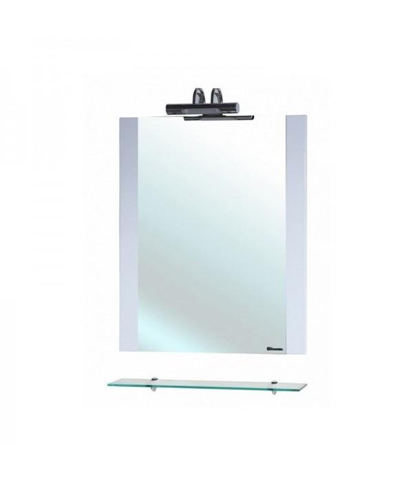 Зеркало Bellezza Рокко 50, белый