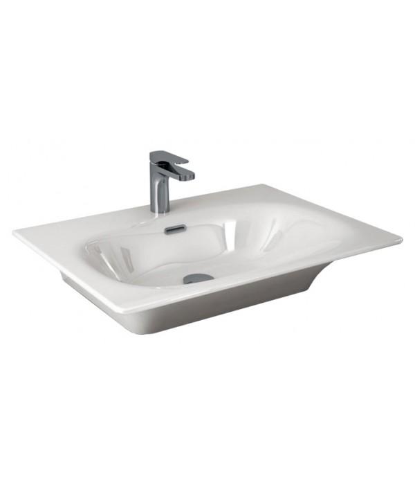 Раковина Hidra Ceramica Flat белая, 71 см