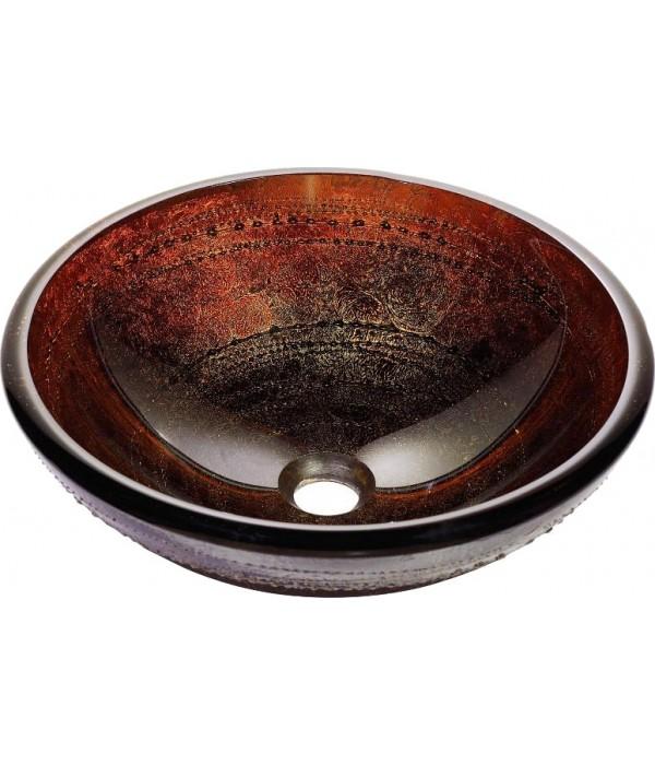 Рукомойник Kraus GV-694-19 mm огненно-красно-золотой