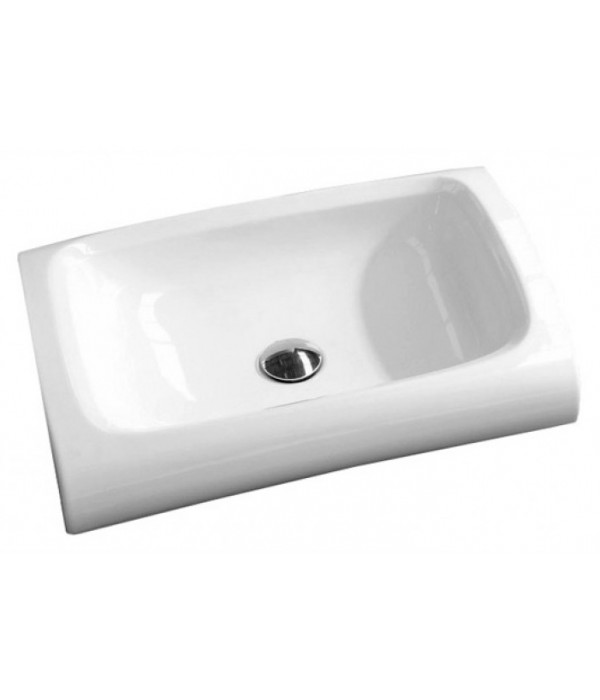 Раковина Hidra Ceramica Hi-line HI15 белая