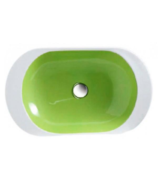 Раковина Disegno Ceramica Ovo OV06040001 green