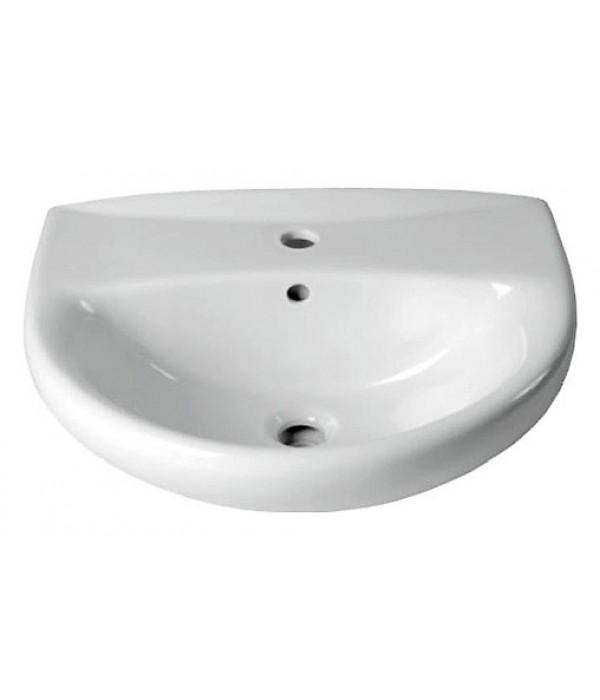 Раковина Керамин Гранд Люкс 55 см, белая