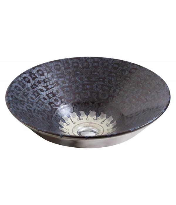 Рукомойник Kohler Serpentine Bronze 41 см